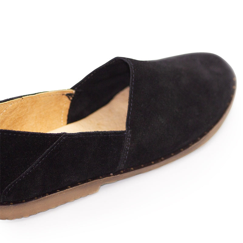 black suede shoe | Charleston Shoe Company