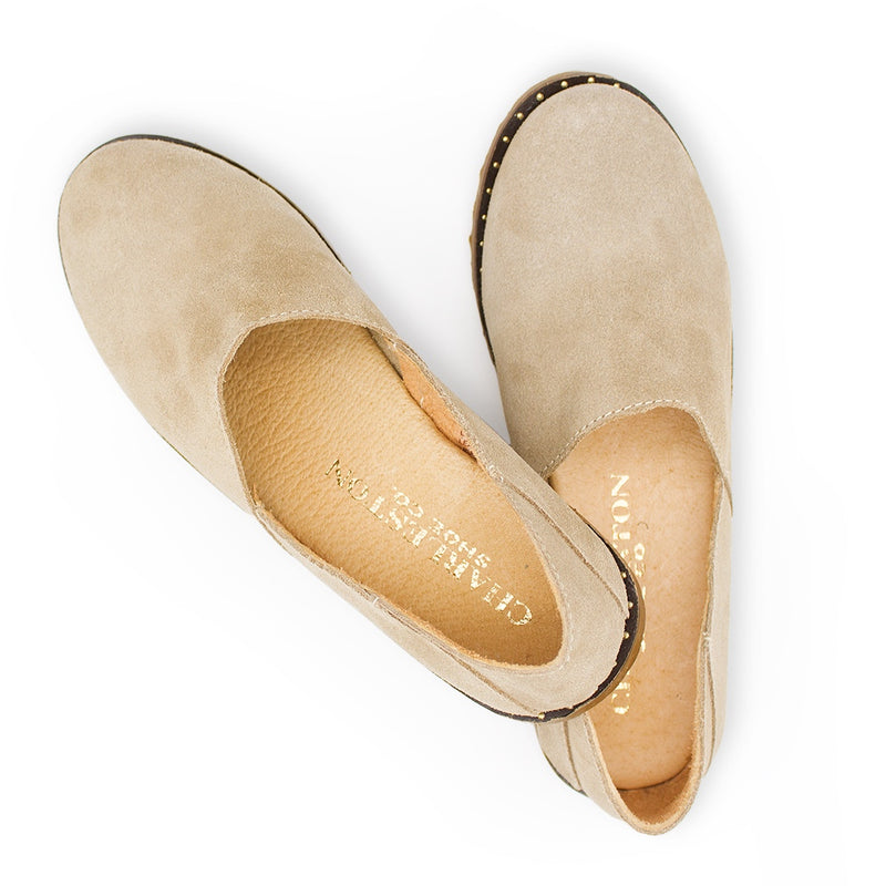 suede loafers, ladies loafers, tan suede loafers | Charleston Shoe Company