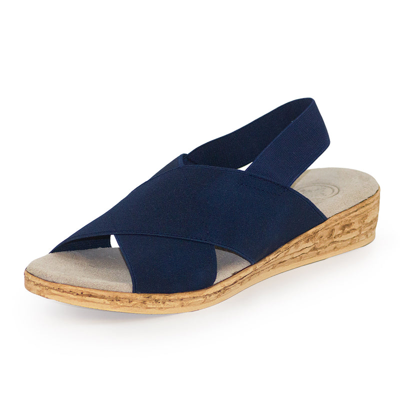 Atlantic - Charleston Shoe Company - navy sandal