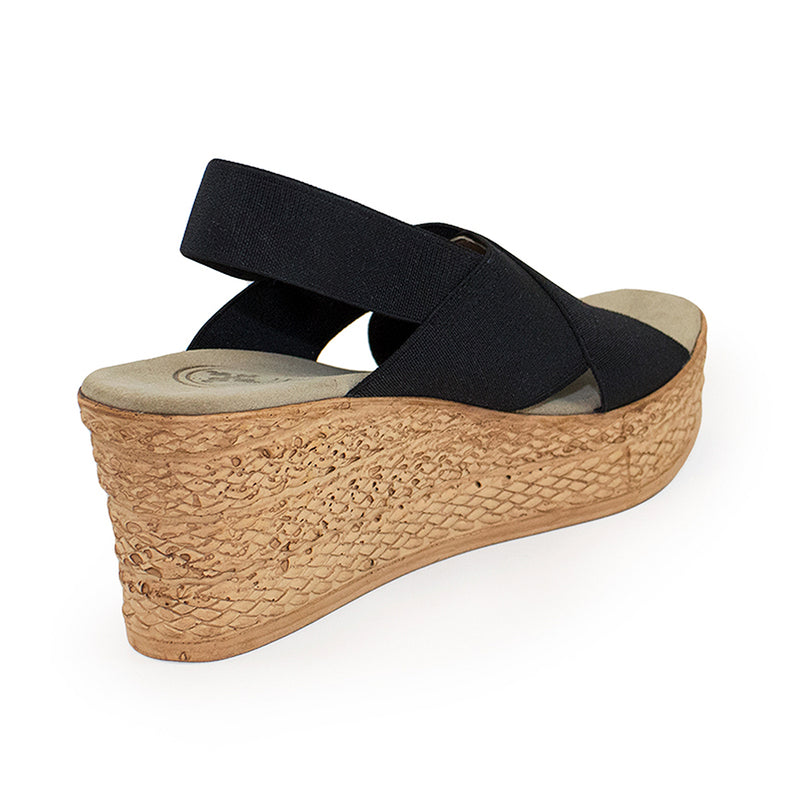 Balboa, wedges shoes, black wedge shoe | Charleston Shoe Company