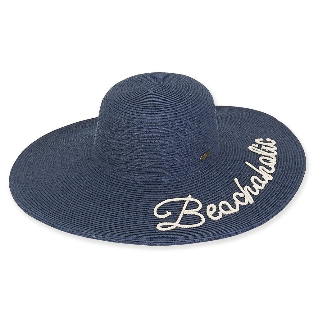 Sun 'N' Sand Beachaholic Floppy Hat
