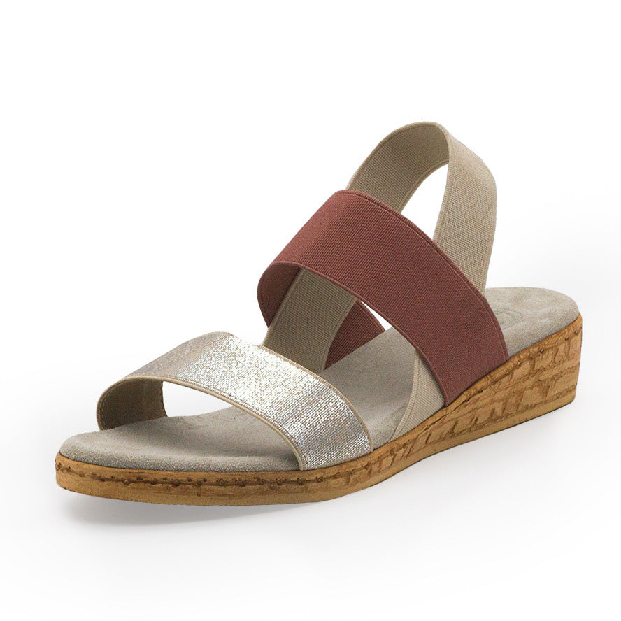 Collins, summer sandal, cork wedge sandal | Charleston Shoe Company