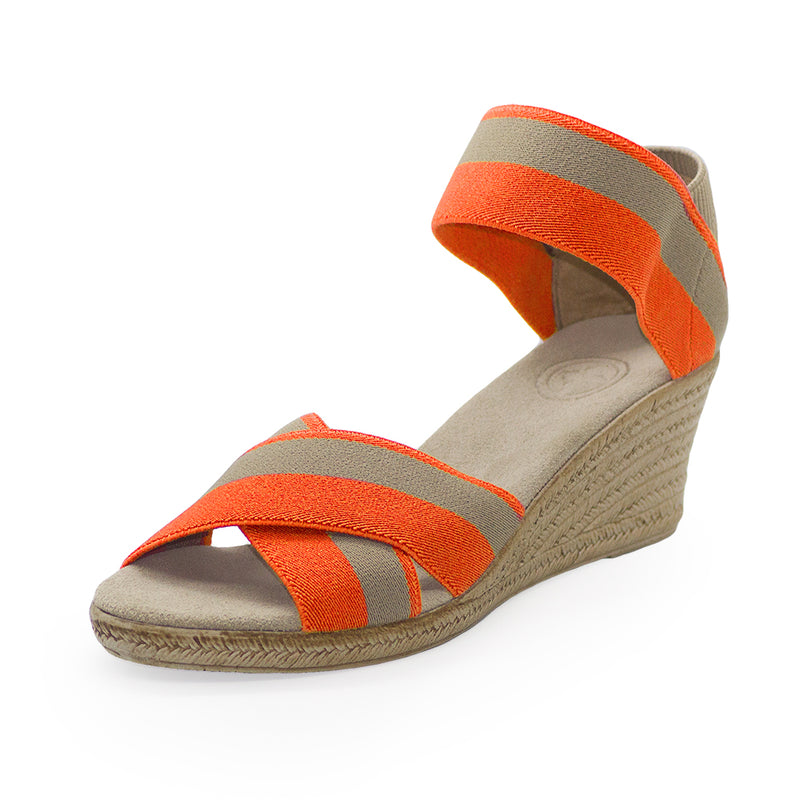 Cannon Two-Tone, wedges shoes, sandals shoes | Charleston Shoe Company