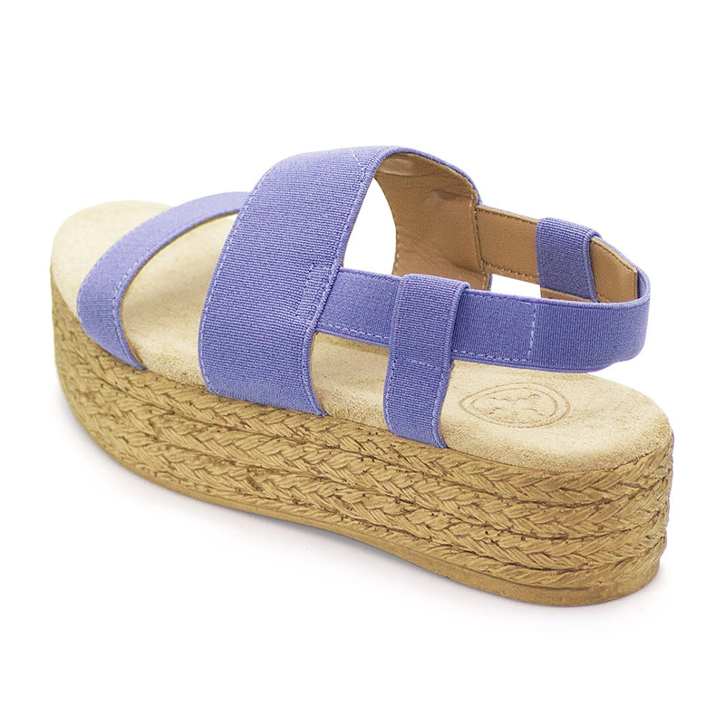 Platform espadrill sandal  | Charleston Shoe Co
