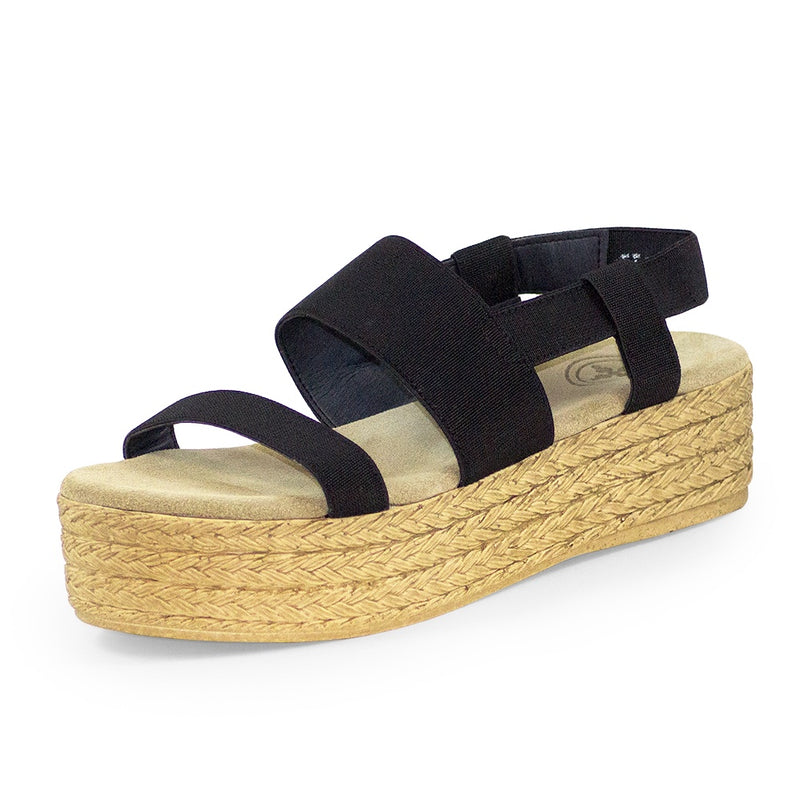 black platform womens sandals, flatform sandal  | Charleston Shoe Co