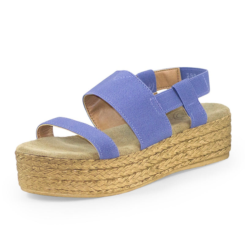 purple cute espadrille sandals, flatform sandal