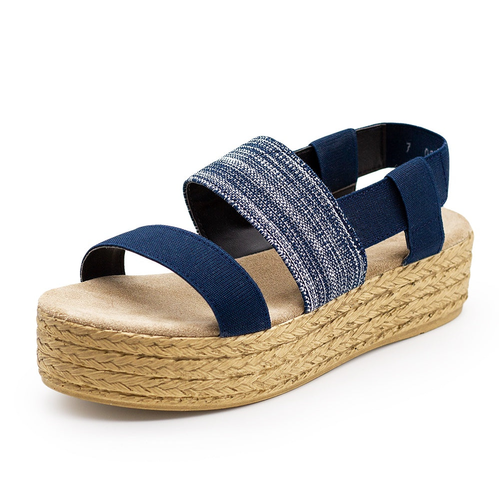 Espadrille wedge platform womens sandals  | Charleston Shoe Co