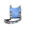 Hand Beaded Round Crossbody