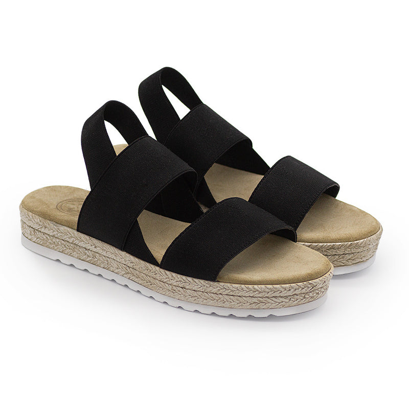 Ojai, black sandals, black sandal | Charleston Shoe Company