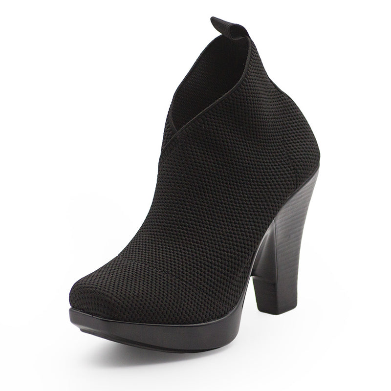 black booties, black ankle booties | Charleston Shoe Company