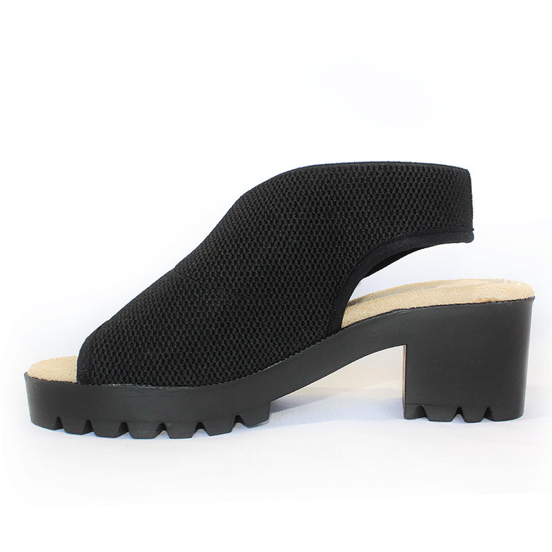 black sandal with heels | Charleston Shoe Company