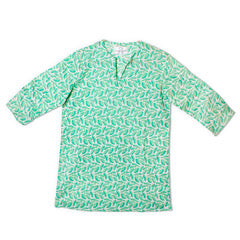Bird Dog Bay Palm Leaf Tunic
