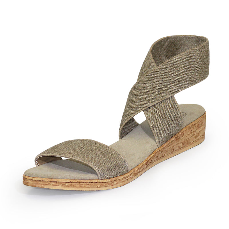Benjamin - flat wedge sandals | Charleston Shoe Company