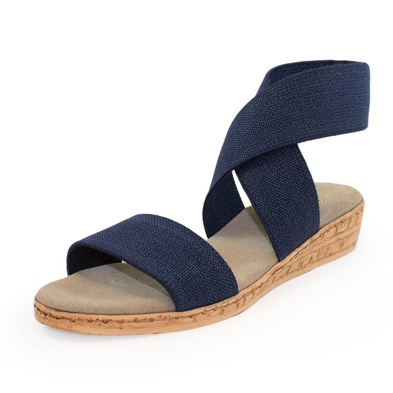 Benjamin - black sandal - black womens sandals | Charleston Shoe Company