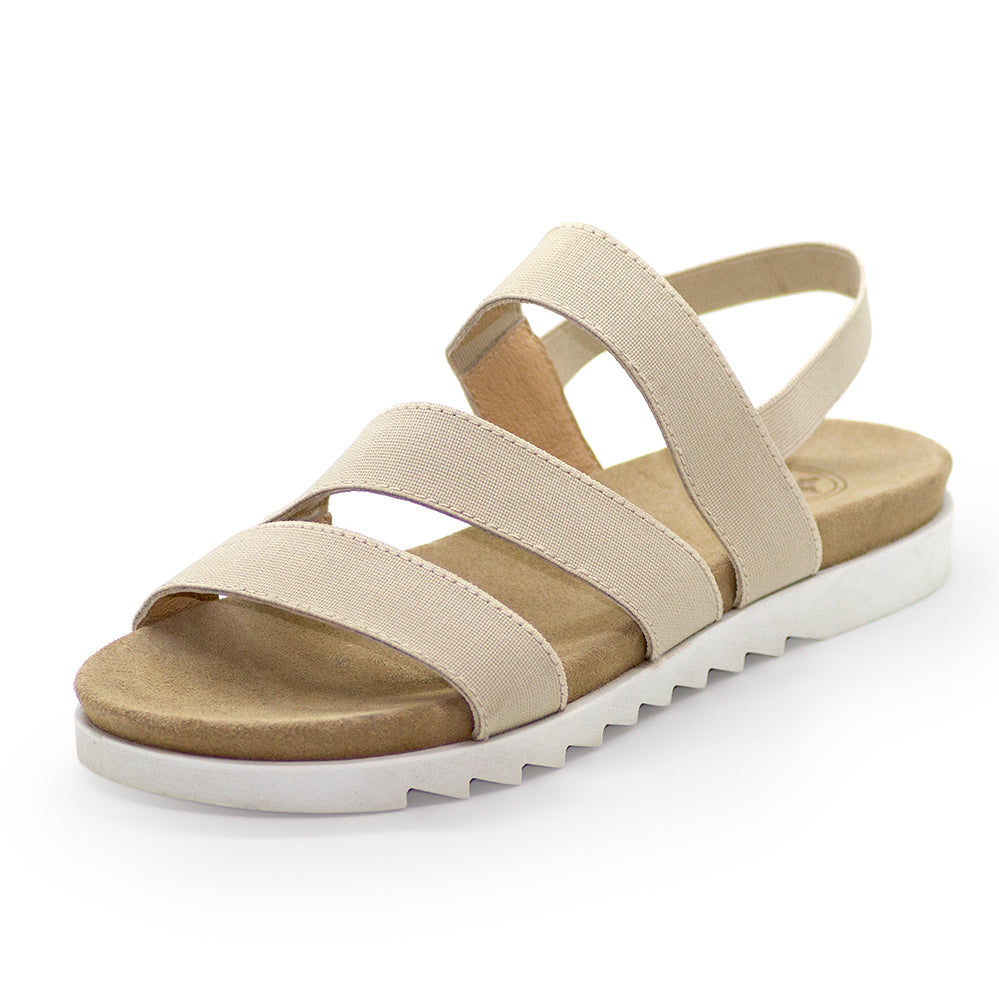 Biscayne, flat wedges sandals | Charleston Shoe Company