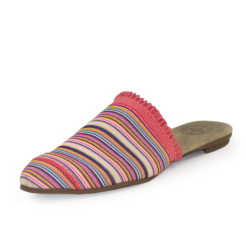 pink striped shoes, pink shoes, womens shoes | Charleston Shoe Company
