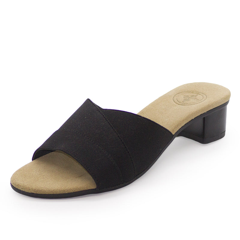 Boca, black low heel, comfortable black heels | Charleston Shoe Company