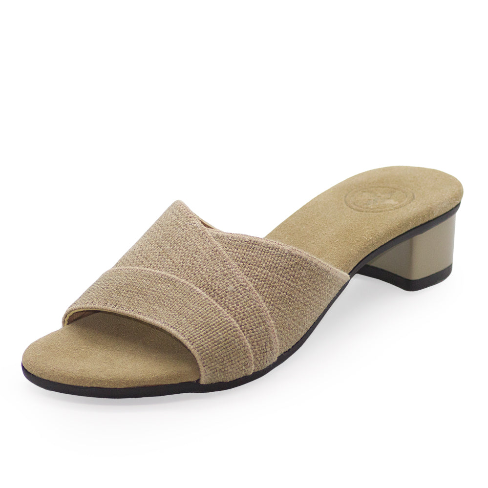 Boca, low heel, tan heels, neutral colored heels |Charleston Shoe Company