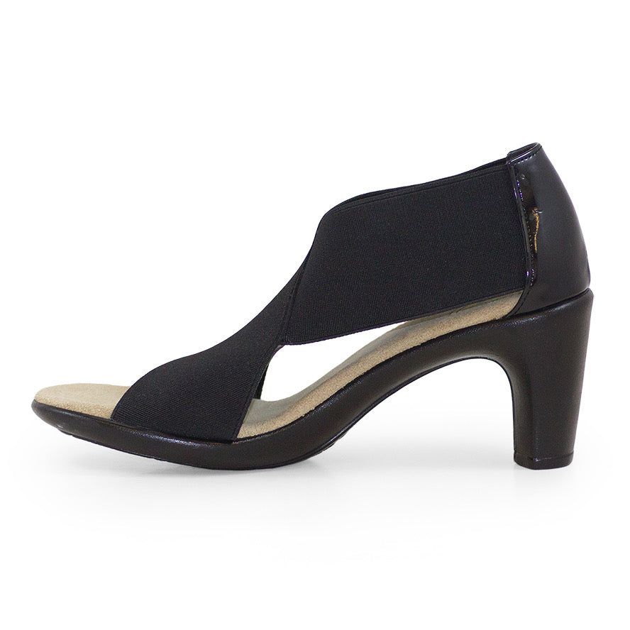 Crawford, black high heels | Charleston Shoe Company