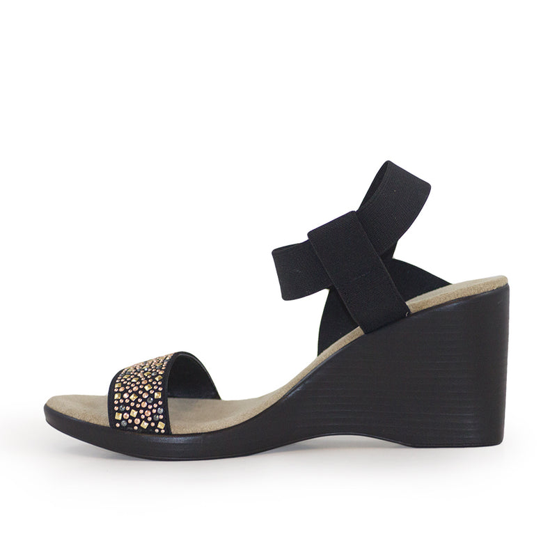 Dewberry, black wedges shoes, dressy wedges | Charleston Shoe Company