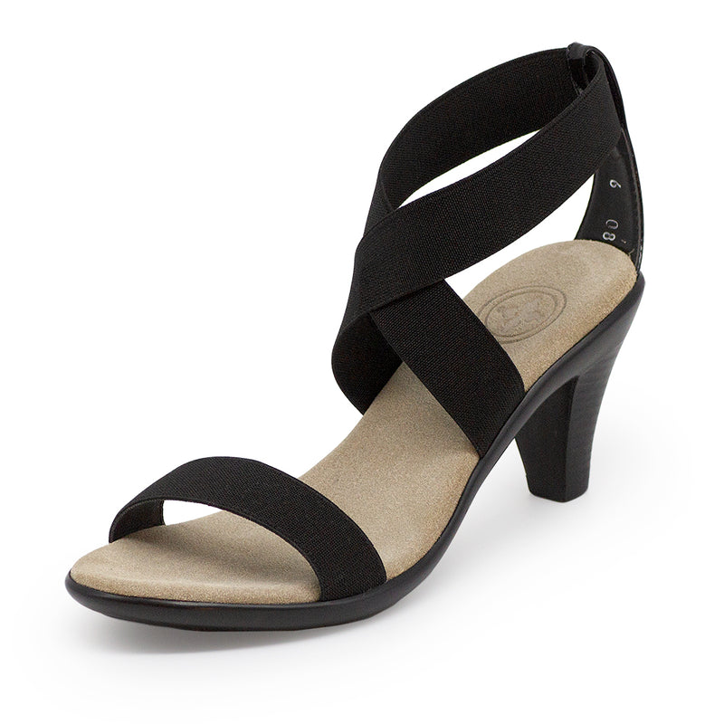 Fairchild, black heels | Charleston Shoe Company