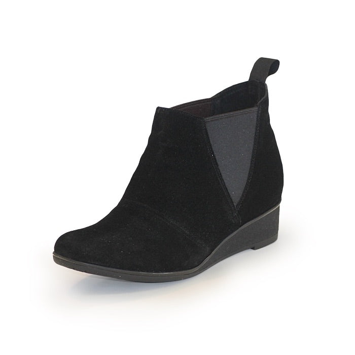 Huger Boot, black ankle boots, black ankle booties | Charleston Shoe Company