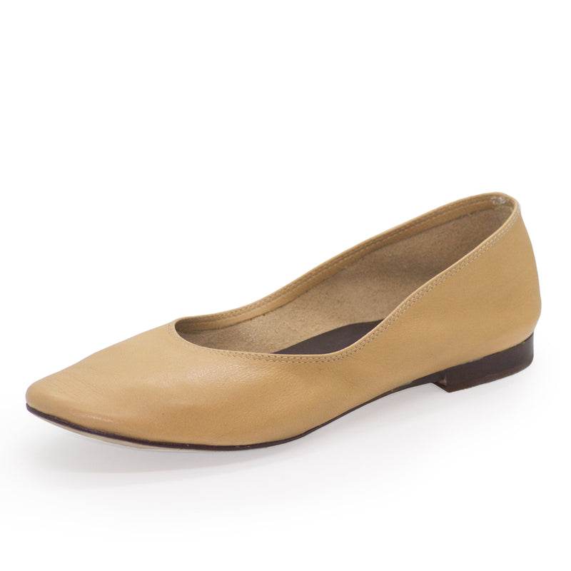 Jilly, tan leather shoes | Charleston Shoe Company