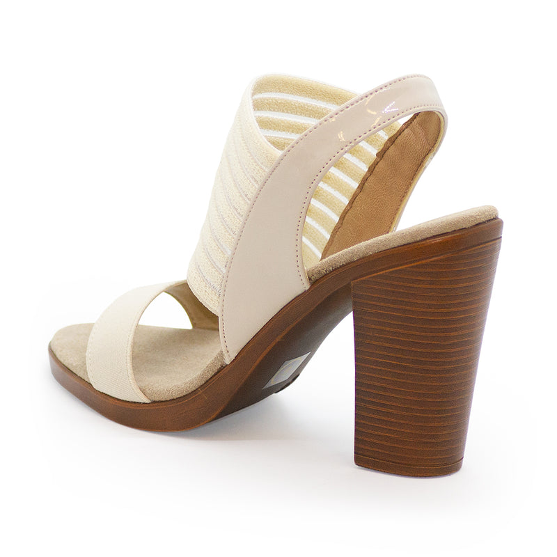 Tribeca, cute white heel, 3 inch heels | Charleston Shoe Company