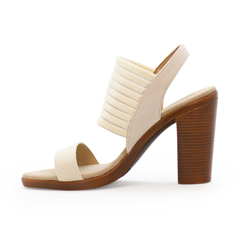 Tribeca, womens shoes, heels, white heel | Charleston Shoe Company
