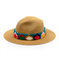 Orijinal Raw Edge Straw Fedora