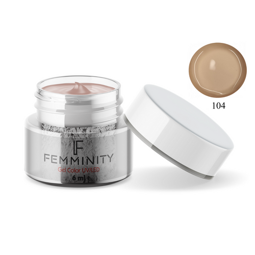 Gel color F104 - Femminity