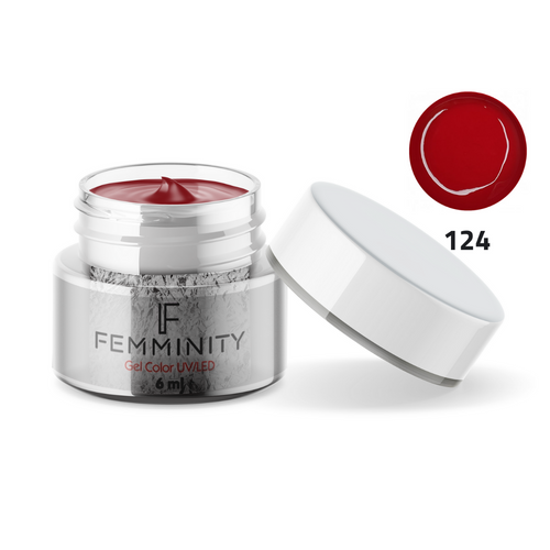 Gel color F124 - Femminity
