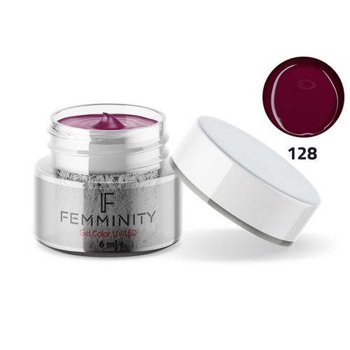 Gel color F128 - Femminity