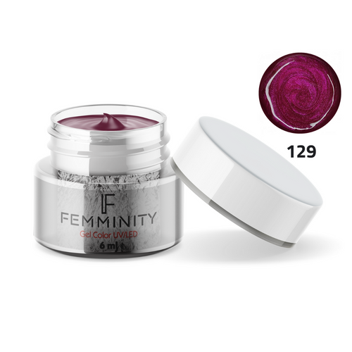 Gel color F129 - Femminity