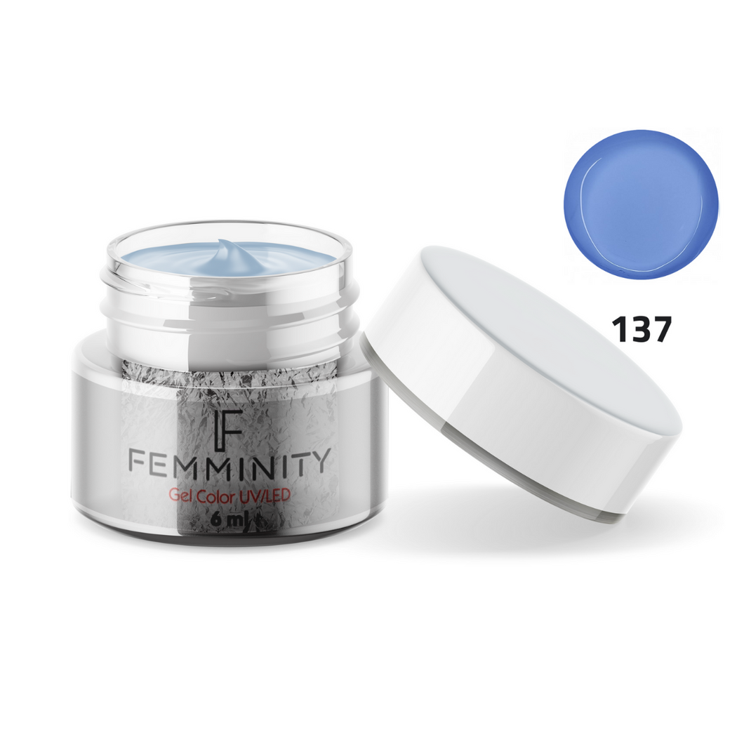 Gel color F137 - Femminity