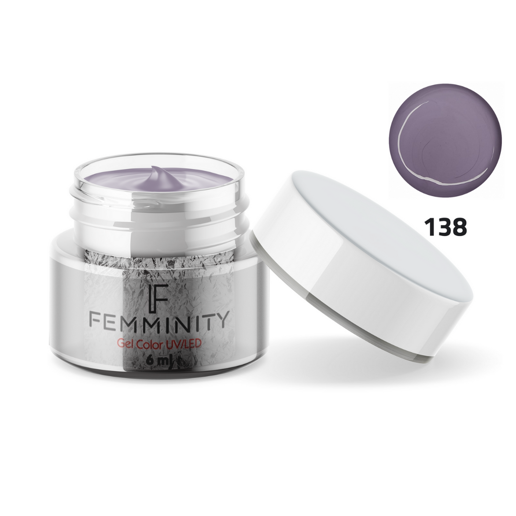 Gel color F138 - Femminity