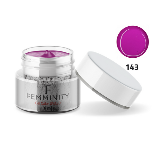 Gel color F143 - Femminity