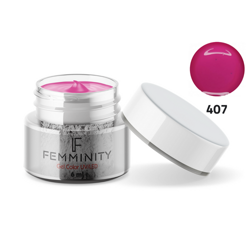 Gel color F407 - Femminity