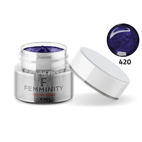 Gel color F420 - Femminity