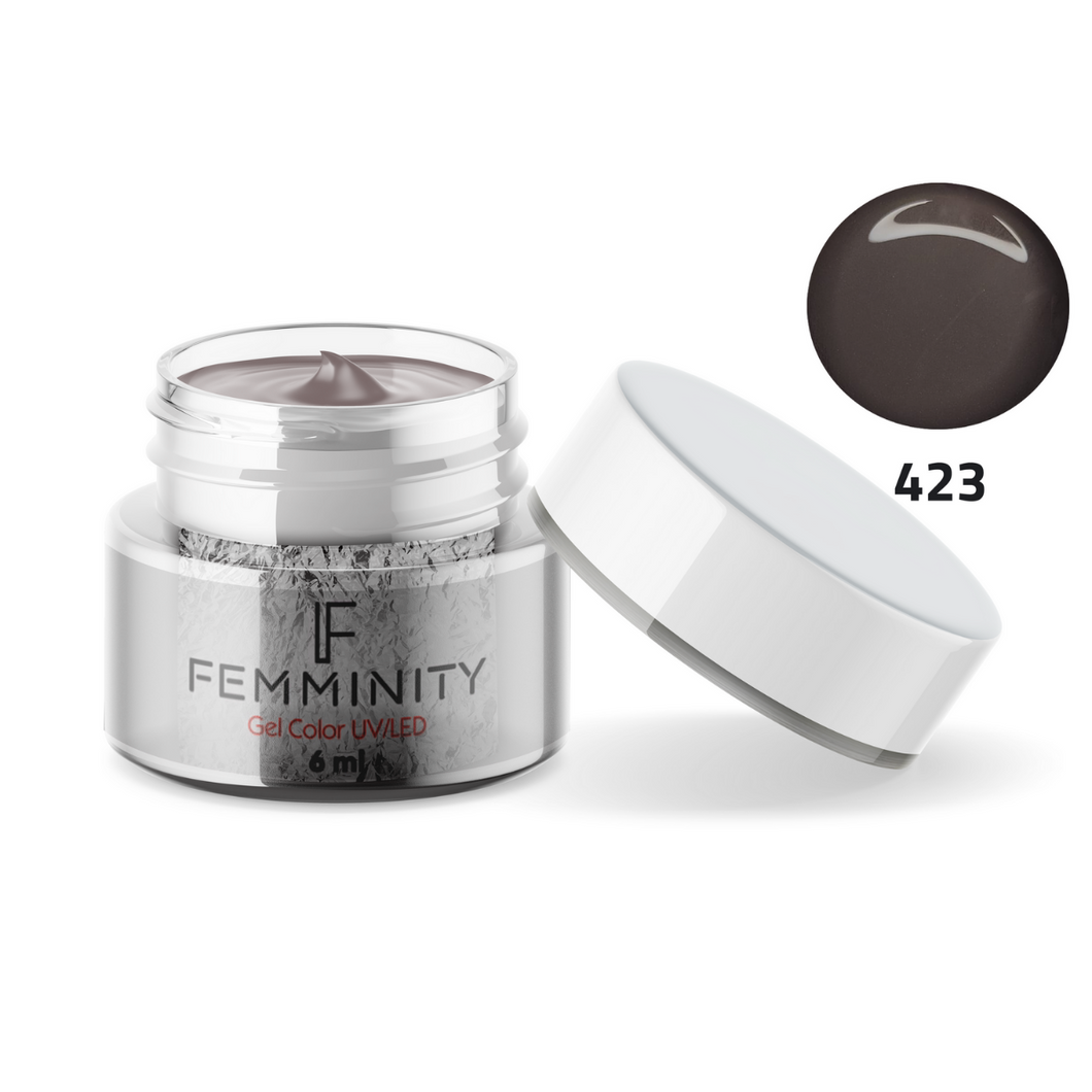 Gel color F423 - Femminity