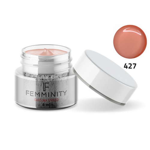 Gel color F427 - Femminity