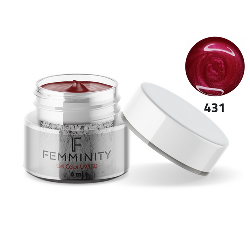 Gel color F431 - Femminity