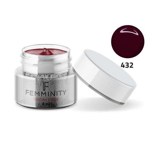 Gel color F432 - Femminity
