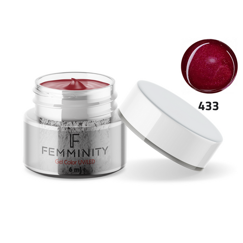 Gel color F433 - Femminity