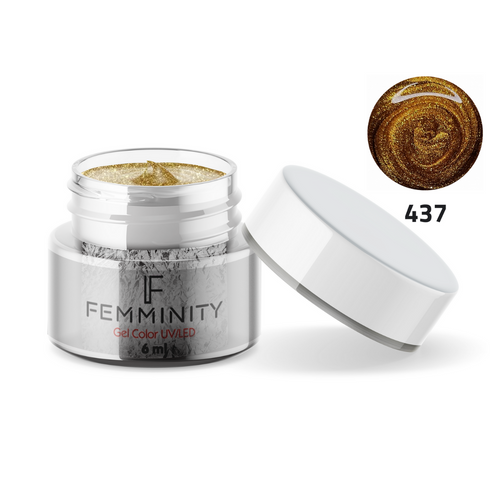 Gel color F437 - Femminity