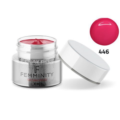 Gel color F446 - Femminity