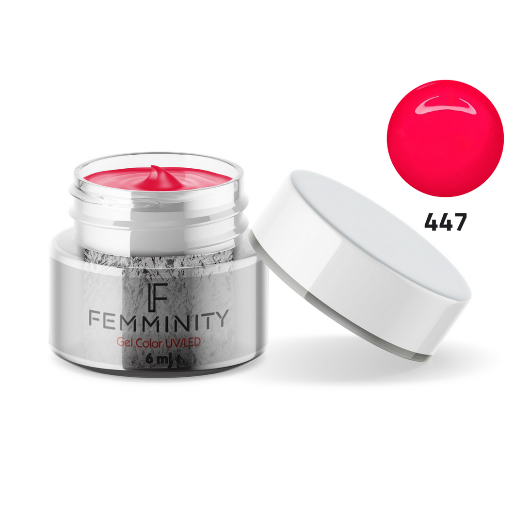 Gel color F447 - Femminity