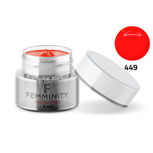 Gel color F449 - Femminity