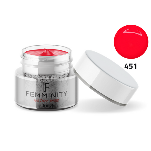 Gel color F451 - Femminity