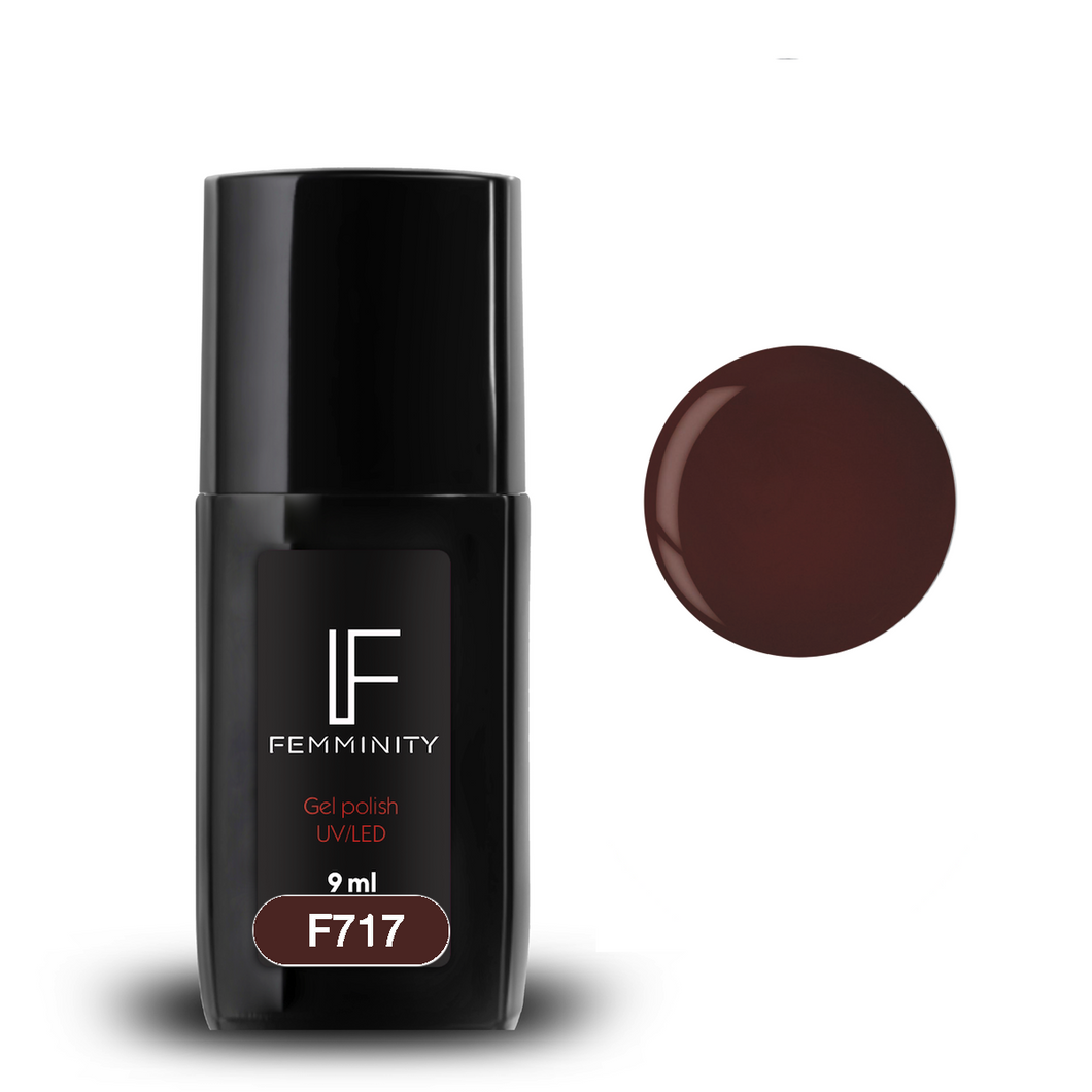 Oje semipermanente F717 9ml - Femminity